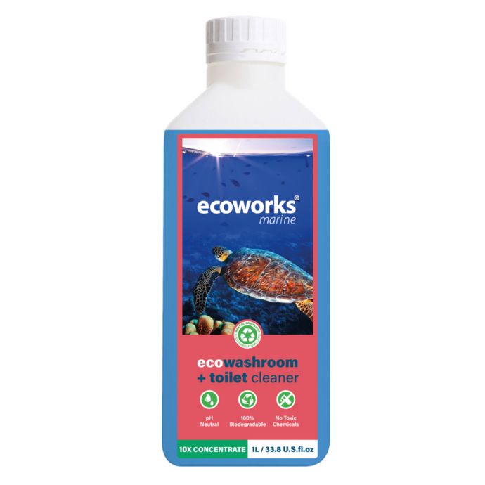 eco washroom & toilet cleaner - Concentrate - Ecoworks Marine Ltd.