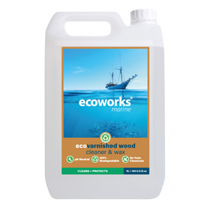 eco varnish wood cleaner & wax - Ecoworks Marine