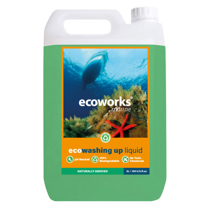 eco washing-up liquid - Ecoworks Marine Cleaning Products