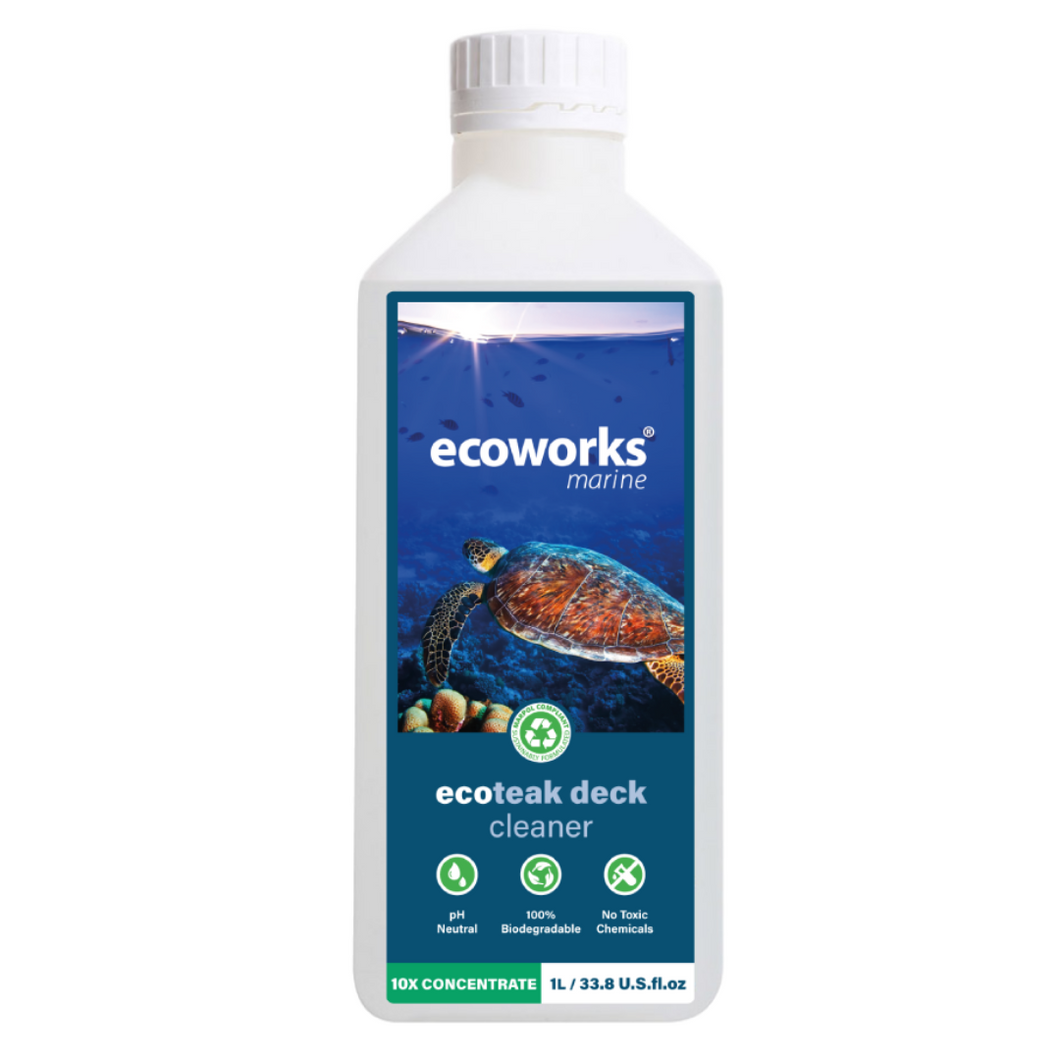 eco teak & deck cleaner - Ecoworks Marine Cleaning Products