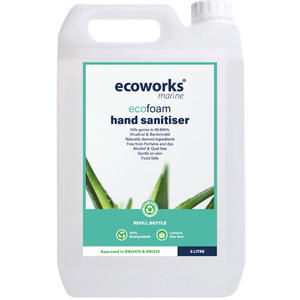 eco foam hand sanitiser - Ecoworks Marine Cleaning Products