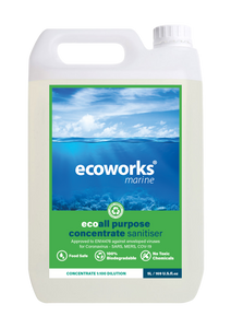 All Purpose Sanitiser Concentrate 1:100 - Ecoworks Marine Ltd.