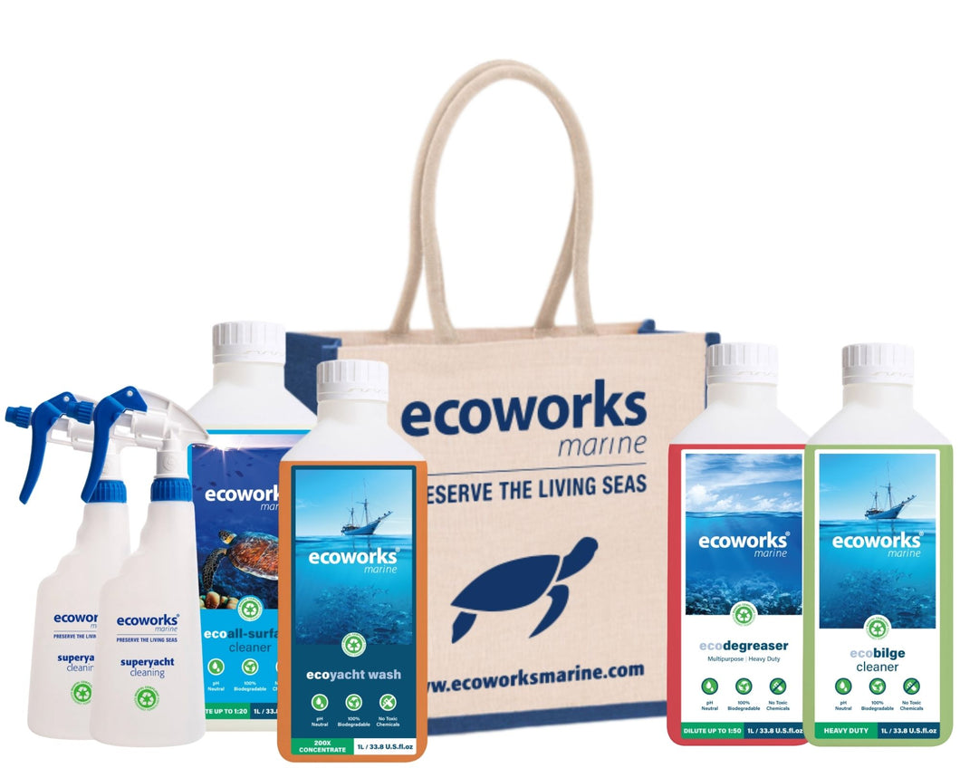 Spring Cleaning Kit - Ecoworks Marine Ltd.