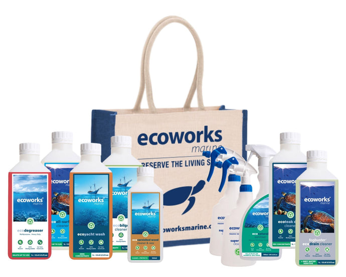 Fully Prepped Spring Cleaning Kit - Ecoworks Marine Ltd.