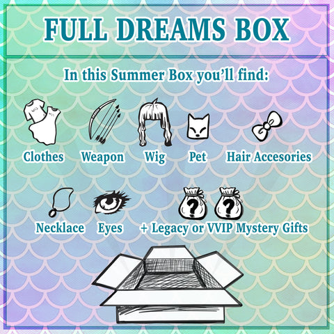 Hidden Dreams SUMMER: Full Dream Box