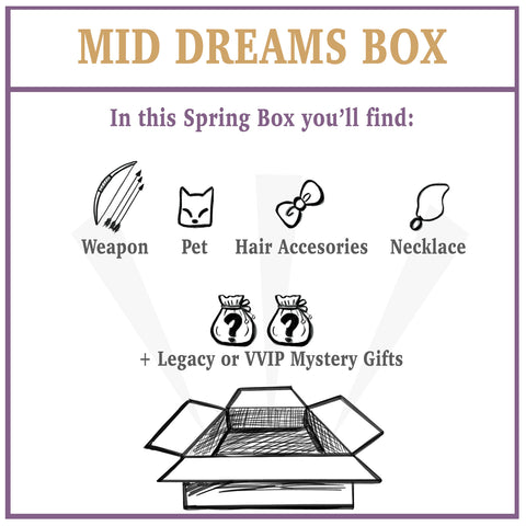 Hidden Dreams Spring: Mid Dream Box
