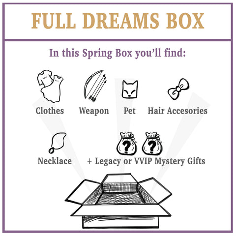 Hidden Dreams: Full Dream Box