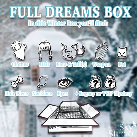 Hidden Dreams Winter: Full Dream Box