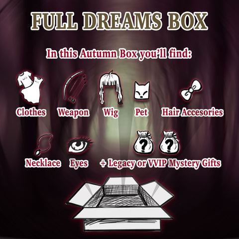 Hidden Dreams Autumn: Full Dream Box