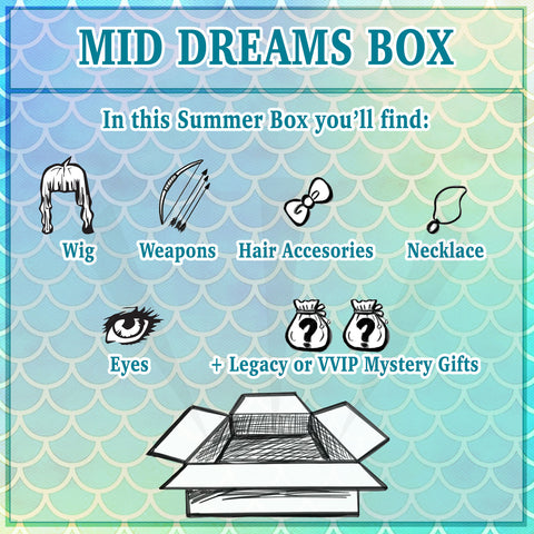 Hidden Dreams SUMMER: Mid Dream Box