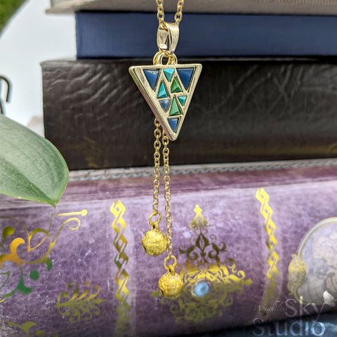 Necklace: Tri Force Heroes Inspired