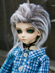 Gray Ombre Fur Wig