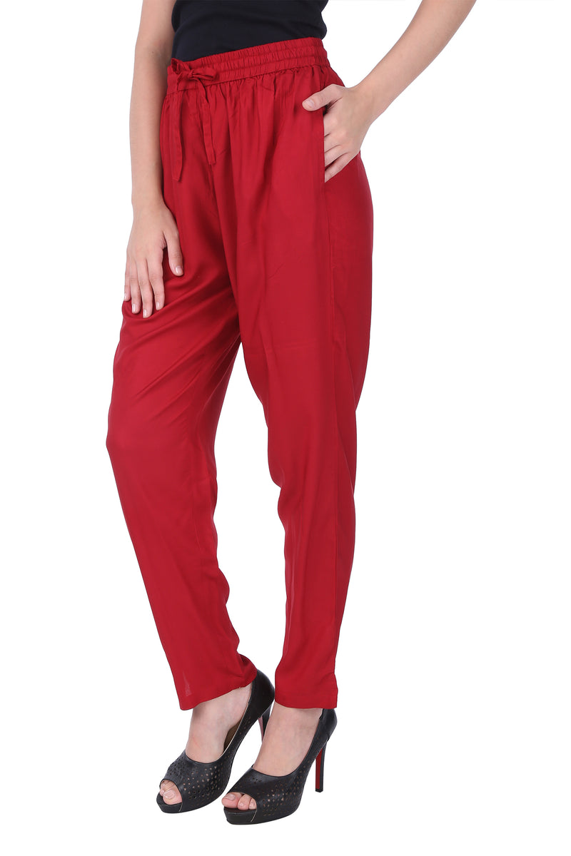 Essential Pant - Bright Red