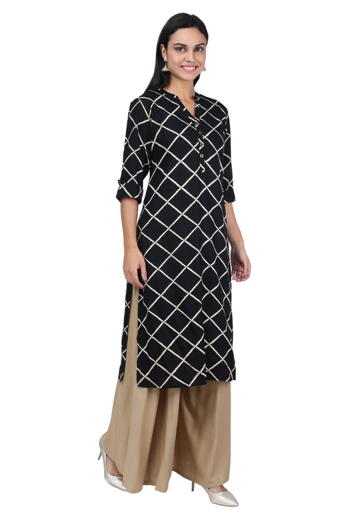 Black Diamond Kurta