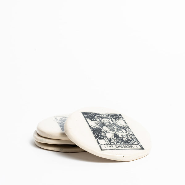 In the Cards - Tarot Coasters