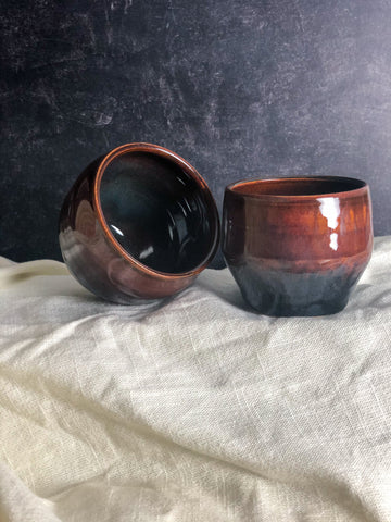 Tigers Eye Wine Cup