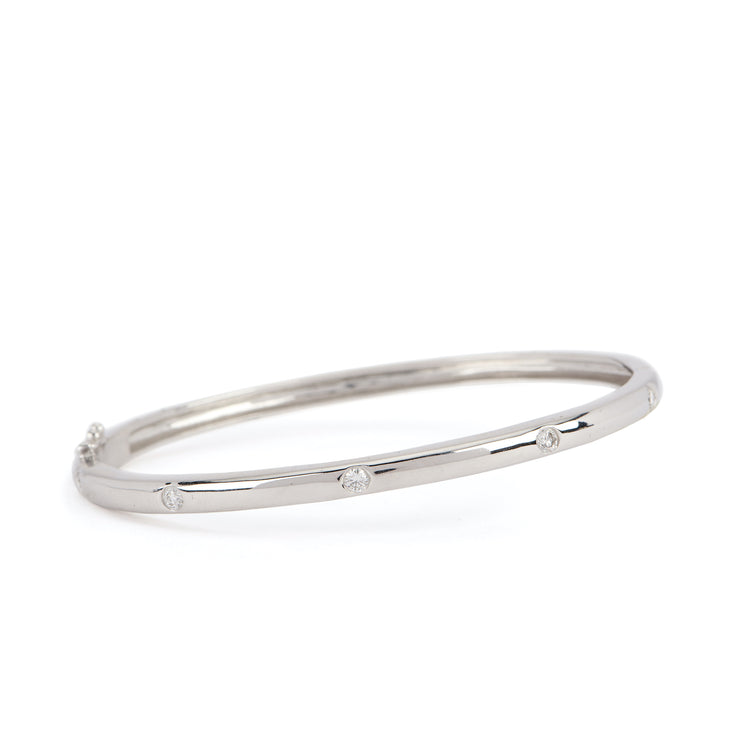 Five Diamond Bangle
