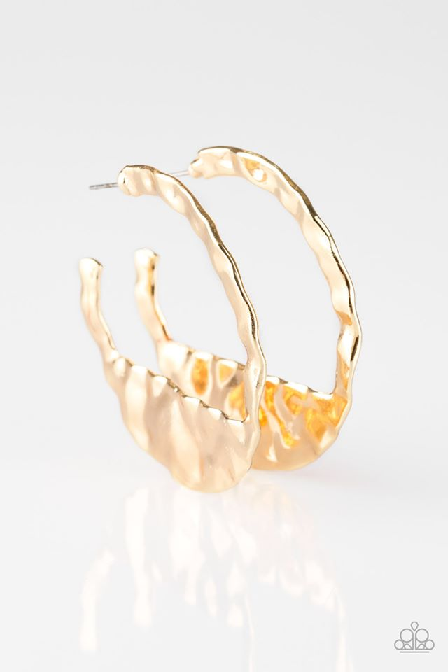 The Beast of Me Gold Hoop