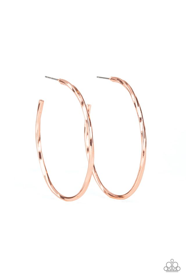Loop De Hoop Copper Earring