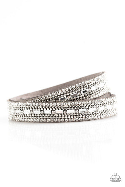Shimmer and Sass-Silver Urban Bracelet
