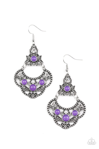 Garden State Glow - Purple Earring