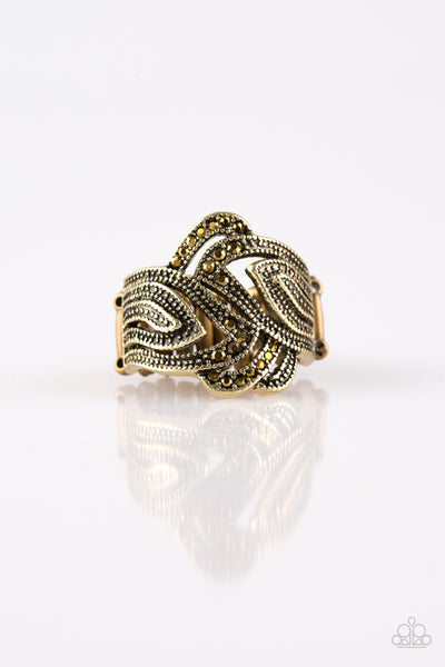Fire and Ice - Brass Ring