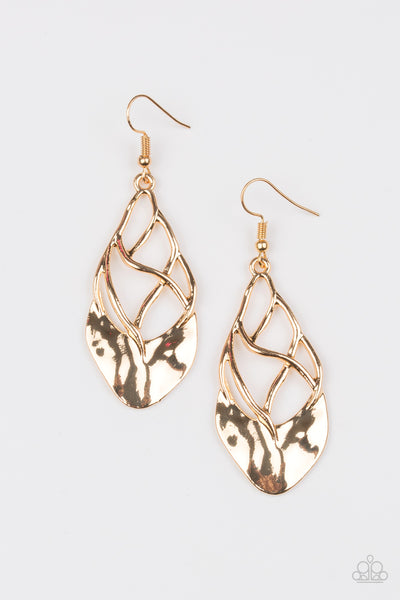 Super Swanky - Gold Earrings