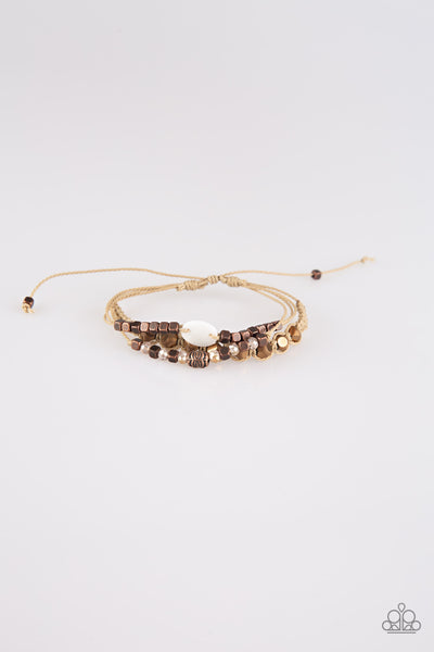 Trendy Tourist - Copper Urban Bracelet