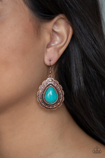 Mountain Mover - Copper Earring