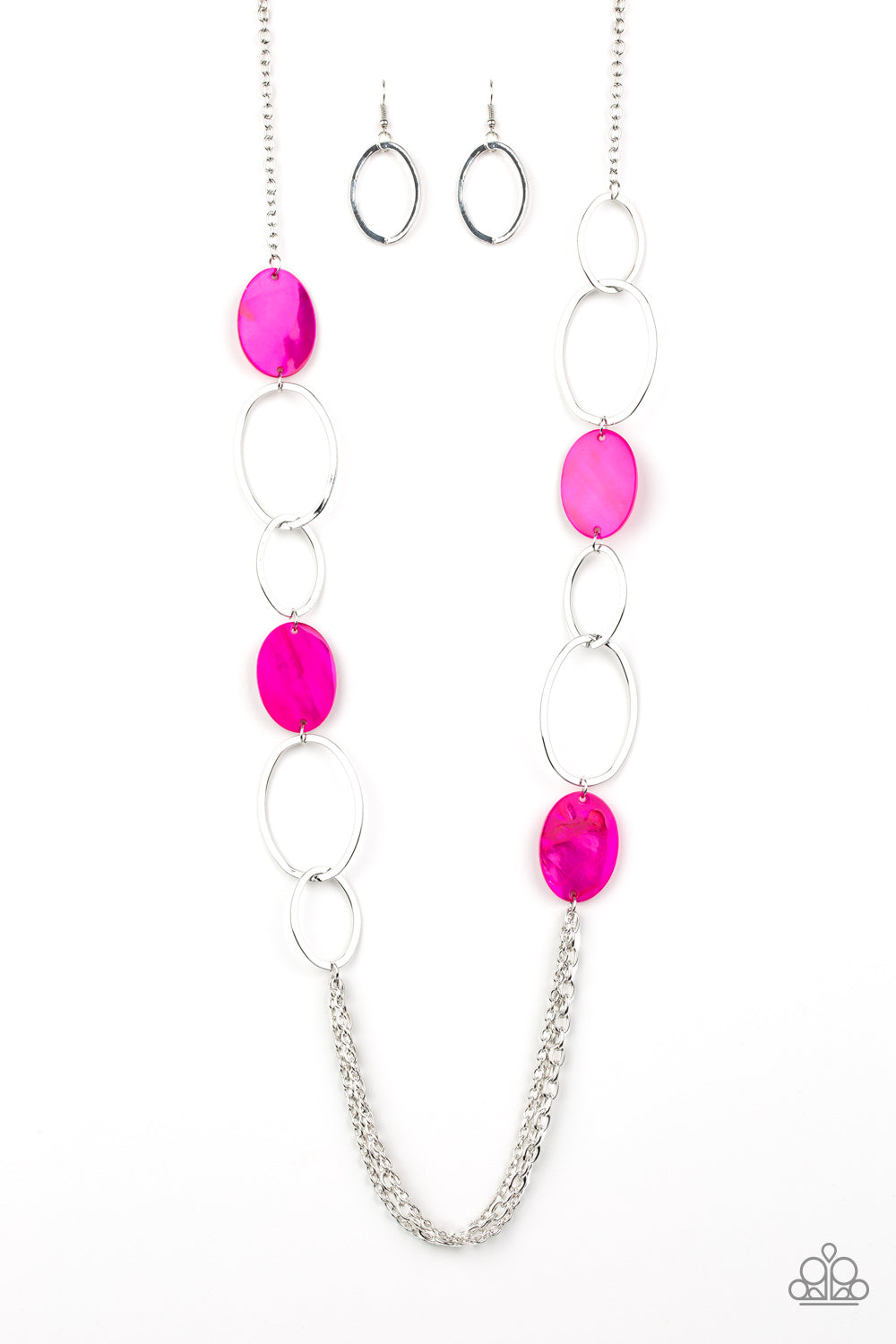Kaleidoscope Coasts - Pink Necklace