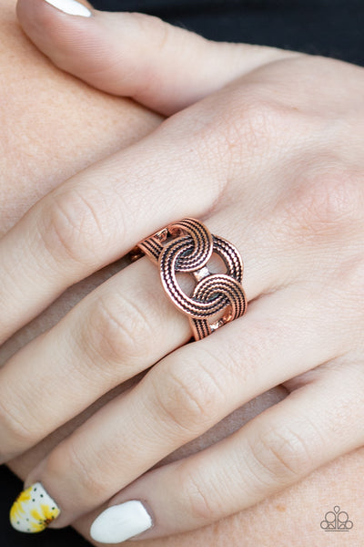 Join Forces - Copper Ring