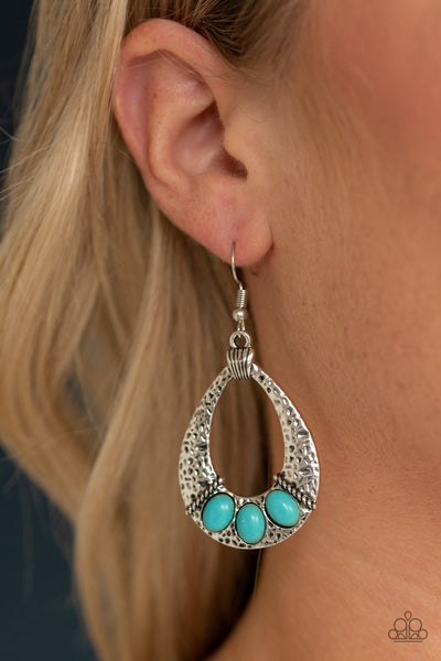 Terra Terrific - Blue Earring