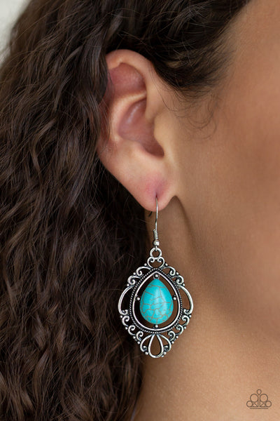 Southern Fairytale Blue Earrings