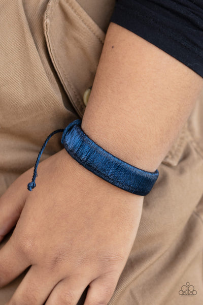 In A Flash-Blue Urban Bracelet
