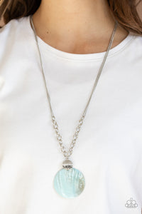 A Top-SHELLer - Blue Necklace
