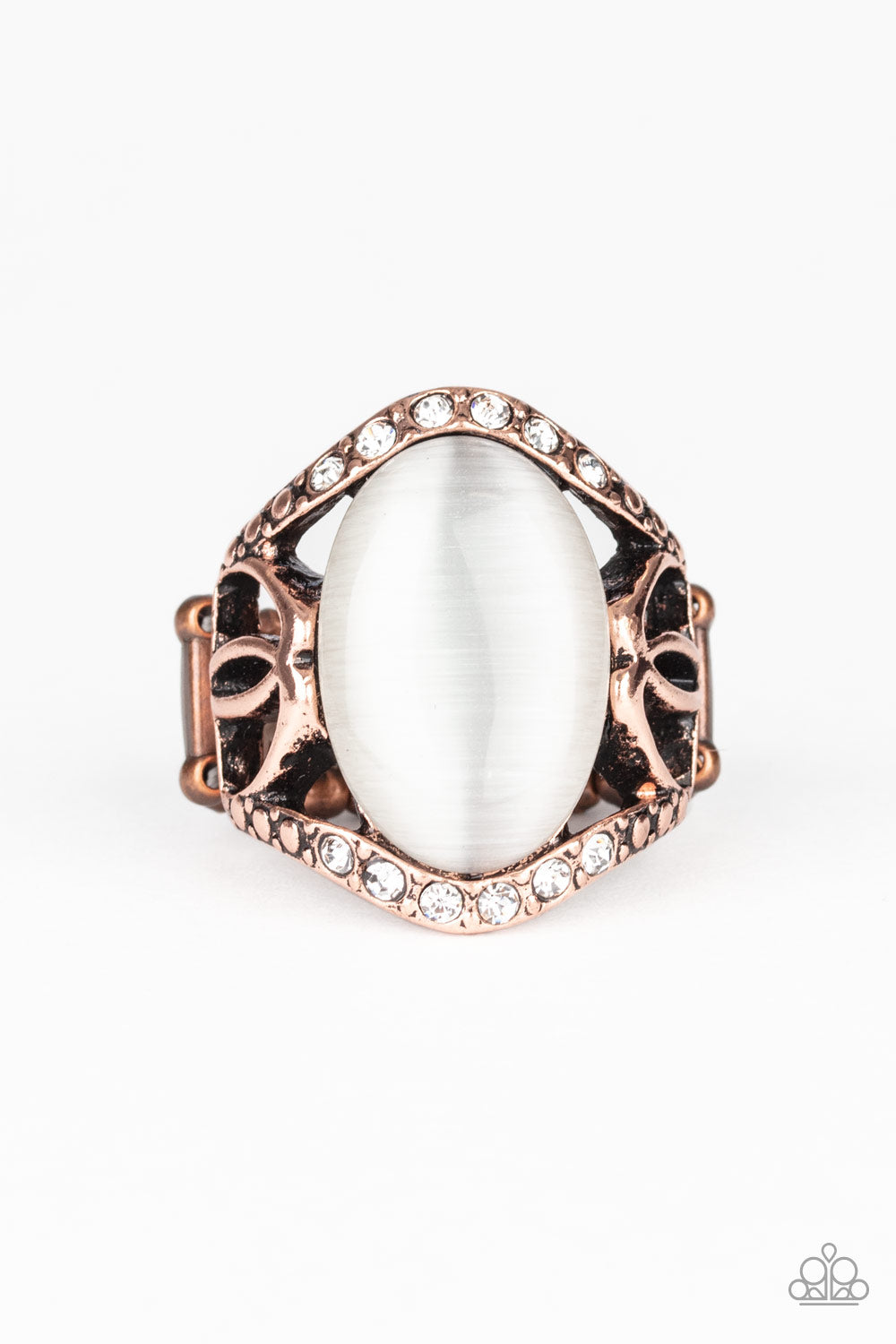 DEW Onto Others - Copper Ring