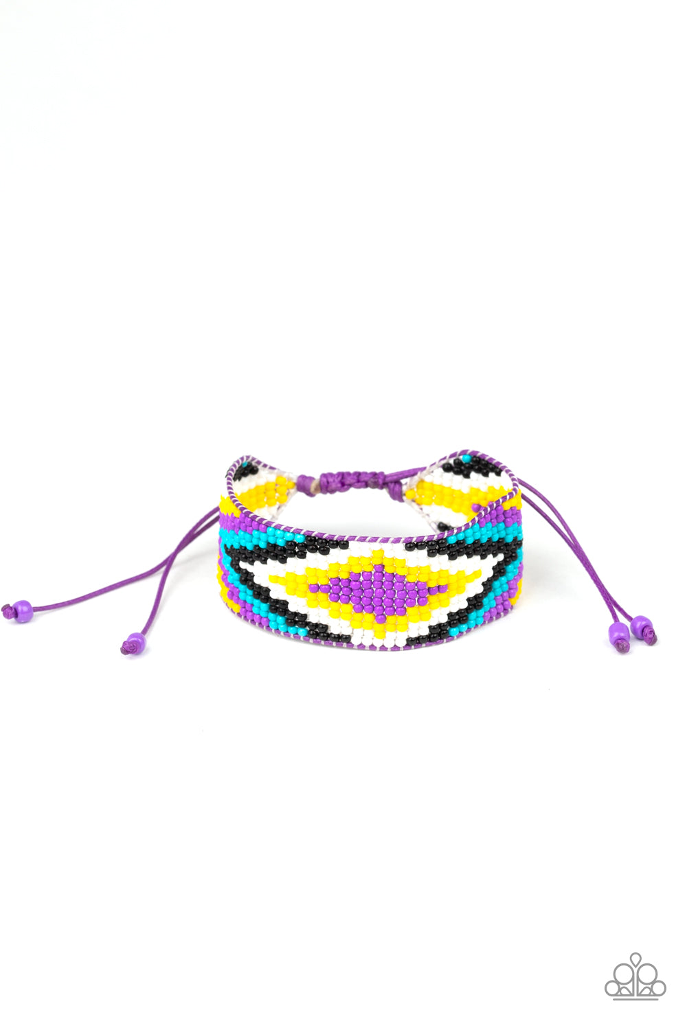 Beautifully Badlands - Purple Urban Bracelet