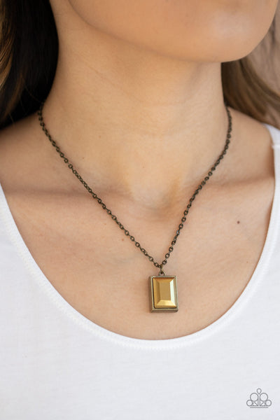 Pro Edge - Brass Necklace