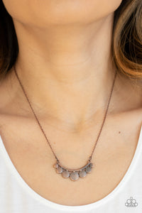 Melodic Metallics - Copper Necklace