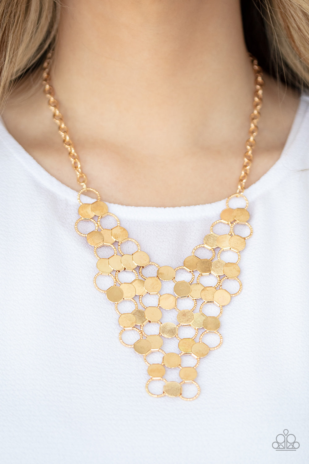 Net Result - Gold Necklace
