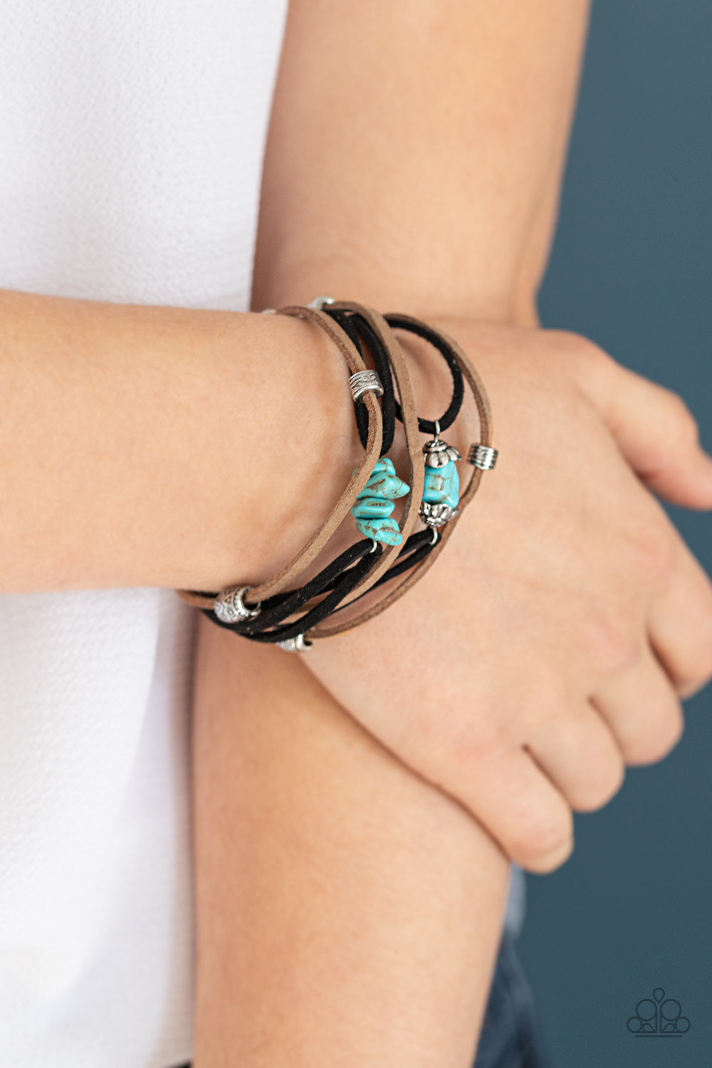 Rocky Mountain Rebel - Blue Urban Bracelet