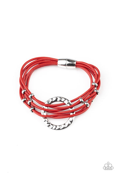 Magnetic Muse - Red Bracelet
