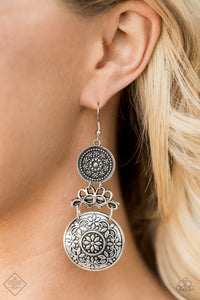 Garden Adventure - Silver Earrings