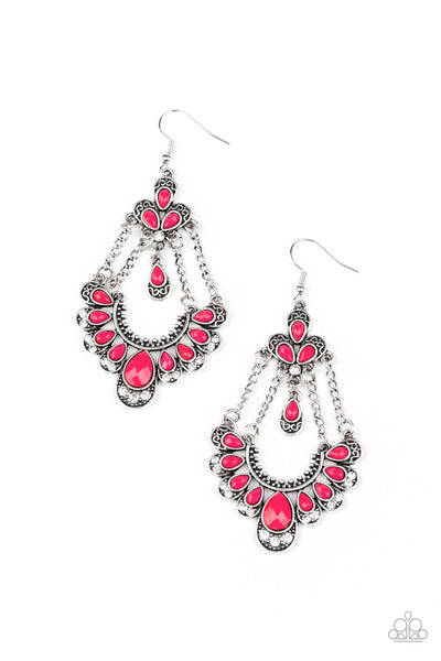 Unique Chic - Pink Earrings