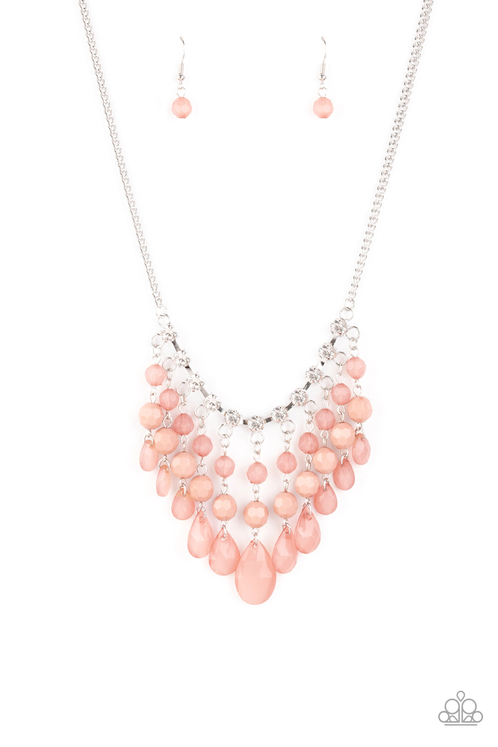 Social Network - Pink Necklace