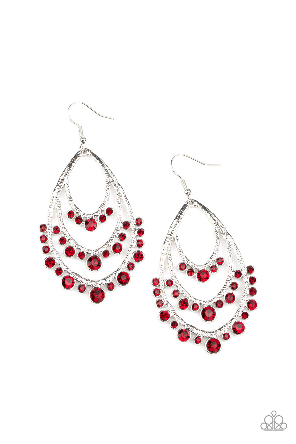 Break Out In TIERS - Red Earring