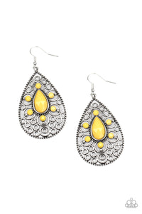 Modern Garden - Yellow Earring