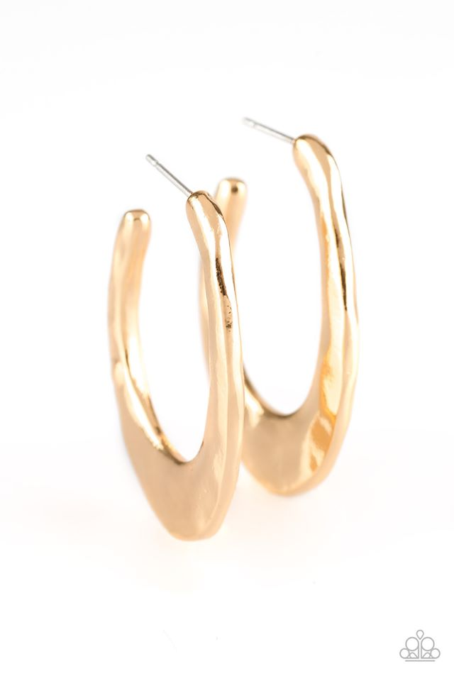 Hoop Me Up!-Gold Earring