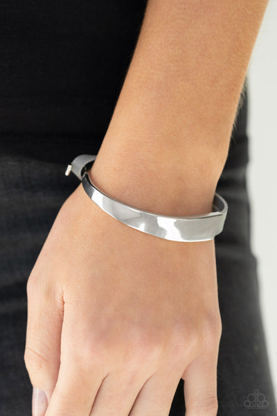 A Notch Above The Rest - Silver Bracelet