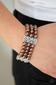 Ritzy Ritz Brown Bracelet